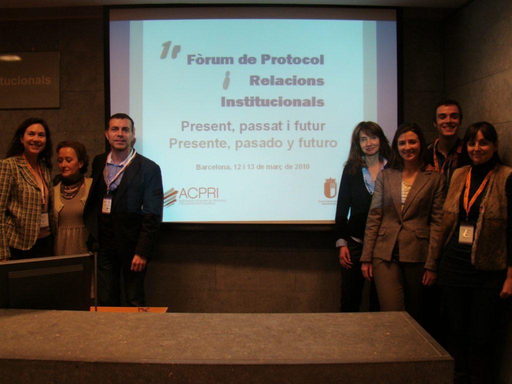 1e Forum Protocol Relacions Inst Dism 2